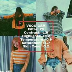 Vsco Photography, Photography Filters, Photography Lessons, Photography Editing, Fotografia Vsco, Best Vsco Filters, Vintage Filters, Vsco Themes, Photo Editing Vsco