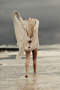 Even gray days are wonderful at the beach ~