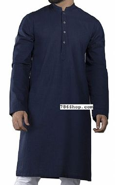 Buy Men's Shalwar Kameez suits with latest designs, custom made salwar kameez suits for men. Pakistani Dresses Online Shopping, Online Dress Shopping, Mens Shalwar Kameez, Pakistani Designers, Style Men, Clothes For Sale, Mens Suits, Fashion Dresses, Navy Blue