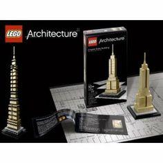 Lego Architecture Series Empire State Building New York Set 21002 by LEGO. $38.86. LEGO Buildings and Bridges - Lego Architecture Series Empire State Building New York Set 21002 - Item: LEG-21002-C