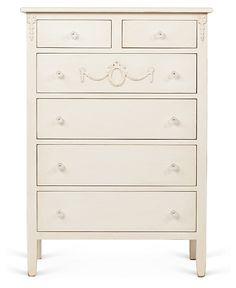 Mary Jane Tall Dresser, Cream | Open for Business | One Kings Lane $1699 ($1900)