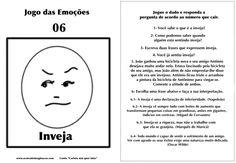 Carlota jogo das emoções 6 inveja Hans Christian, Emotional Intelligence, Child Development, Coaching, Stress, Bullet Journal, Children, Digimon, Professor
