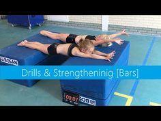 Drills [Bars] » Strengthening! - YouTube Gymnastics At Home, Gymnastics Lessons, Gymnastics Fails, Tumbling Gymnastics, Gymnastics Coaching, Amazing Gymnastics, Gymnastics Quotes, Gymnastics Videos, Gymnastics Workout
