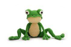 Ravelry: Fritz the Frog by Vera - YukiYarnDesigns