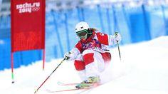 JO Sotchi - 8 février 2014 - Justine Dufour-Lapointe - Ski acrobatique / Bosses