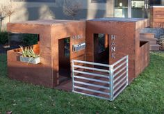 "Had to post these, because they just make me smile.....play houses for ""modern"" play living!"