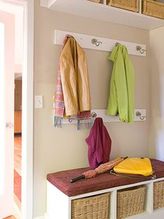 Home Remedies: Time for a Proper Entry ~ Max a small space to be effective...