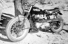 Steve McQueen Triumph BW