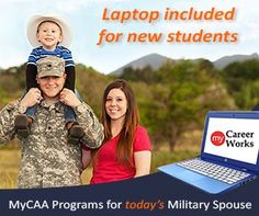 Military Spouses: Have you decided what your next move is? How about a grant that can help you step into a new career in 6 months or less.