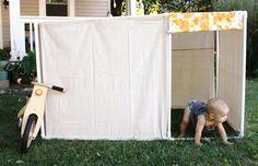 Modular PVC fort.  Must make!