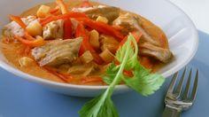 Gulasch mit Karpfen, Paprika und Sellerie