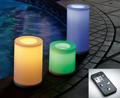 Today's PartyLite® Candles Sweepstakes Prize: Light Illusions Color Changing White Outdoor LED Pillars w/Remote Control! Enter here - http://partylite.promo.eprize.com/40daysofwinning/?affiliate_id=UShomepage#.UX6YBsrNmSo