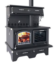 Roby Cuisiniere Wood Cookstove at Obadiah's Woodstoves. Roby Cuisiniere Wood Cookstove at Obadiah's Woodstoves. Wood Burning Cook Stove, Wood Stove Cooking, Kitchen Stove, Cabin Homes, Log Homes, Alter Herd, Old Stove, Vintage Stoves, Antique Stove