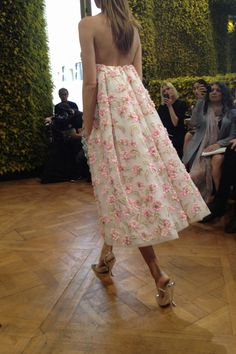 Christian Dior Haute Couture by Raf Simons...would love to have for rehearsal dinner!