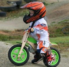 Dirt bike for toddler
