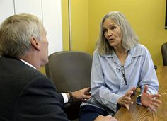 Former Charles Manson follower Leslie Van Houten confers with her attorney Rich…