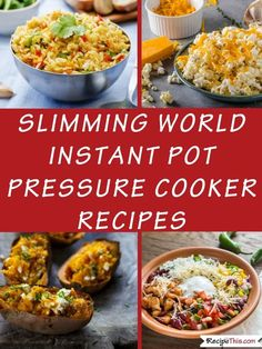 The Best Ever Slimming World Recipes. All the best Instant Pot Pressure Cooker r… The Best Ever Slimming World Recipes. All the best Instant Pot Pressure Cooker recipes for and many and all in one place together. Slow Cooker Slimming World, Slimming World Recipes, Healthy Meals For One, Easy Meals, Healthy Recipes, Ketogenic Recipes, Healthy Foods, Easy Recipes, Slow Cooker Recipes