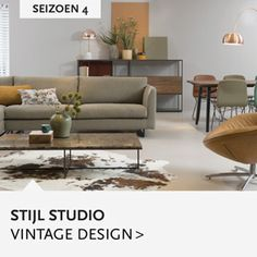 Vintage-Design. Wat zijn kenmerkende elementen?