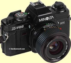 I have one of these and still use it. The X700 is one of the best manual focus cameras made by Minolta. It's a 35mm SLR.