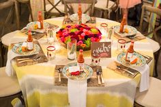 paletas de pina Mexican wedding inspiration - photo by Brilliant Imagery http://ruffledblog.com/paletas-de-pina-mexican-wedding-inspiration
