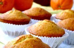 muffins à l'orange coeur au nutella