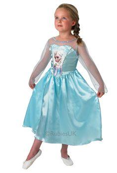 Costume di Elsa di Frozen per bambine