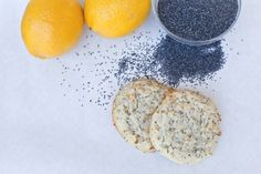 Baked Lemon Poppy Seed Cookies