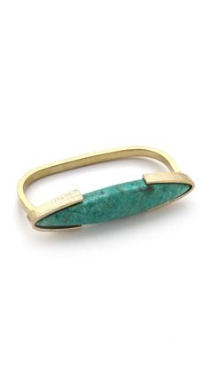 Gemma Redux Turquoise Multi-Finger Ring. Verrrry cool! 50% off at $108