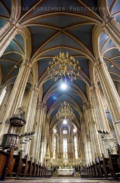 Cathedral in Zagreb ... capitol of Croatia