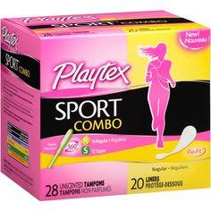 FREE Playtex Sport Pad, Liners, and Combo Sample Packs! ~Mama Bees Freebies