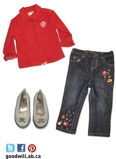 Jacket, jeans and a cute pair of flats, what more could you need!