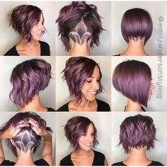 Stunning Aline Bob With Undercut Nape Art  Haircut By @emilyandersonstyling  #UCFeed #BuzzCutFeed #Undercut ...