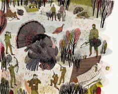 Field & Stream - Peter Oumanski illustration