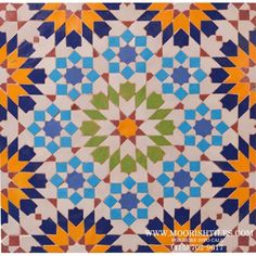Moroccan Kitchen Tile