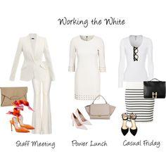 3 Keys To Wearing White at Work