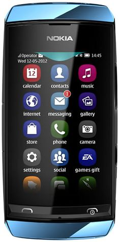 Nokia Asha 306  Love the look of this phone, Nokia is changing a lot
