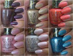 OPI Bond 007 Liquid Sands nail polish collection
