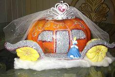 Cinderella pumpkin,so much fun to make and soo easy!
