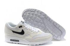 Air Max 1 Nike Running Sport Shoes White/Black
