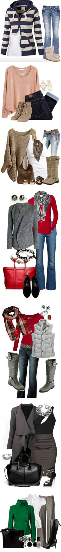 Chic Outfit Ideas How To Look Classy, That Look, Chic Outfits, Fashion Outfits, Outfit Ideas, Board, Cute, Classy Outfits, Sign