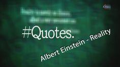 Эйнштейн | Albert Einstein - Reality (Цитаты и фразы на Английском/Quote...