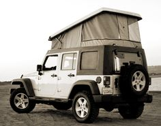 Ursa Minor Vehicles J30 Hard Top - Pop Up 2012.  Made for the Jeep Wrangler Unlimited. A pop-up camper for two adults.  $5250 without installation.  Does not include Jeep.