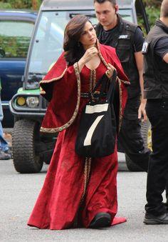 """Lana Parilla - Behind the scenes - 5 * 5 """"DreamCatcher"""" - 28 August 2015"""