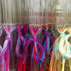 Loving working with these colours today ❤️💜💙💚💛 #sustainablefashion #sustainable #sustainableliving #sustainabletextiles #sustainabledesign #eco #ecofriendly #ecotextiles #plantbased #vegan #crueltyfree #organic #weaver #woven #woventextiles #textile #textiledesign #textiledesigner #luxury #luxuryyarn #luxurylife #luxurylifestyle #madeinhampshire #madewithlove #footpowered #organiccotton #organiccottonyarn #bamboo #bambooyarn