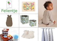 Bij Felientje hebben ze zóóóóveel keuze in leuke items voor babys en kinderen. Fijne shop als je nog op zoek bent naar items om de kinderkamer af te maken of een cadeautje voor een ander.