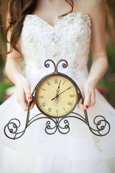 disney's beauty and the beast wedding - Beauty & the Beast Wedding - Vintage Clock Wedding Shoot, Wedding Engagement, Wedding Ceremony, Dream Wedding, Wedding Bells, Wedding Stuff, Beauty And Beast Wedding, Disney Beauty And The Beast, Beauty Beast