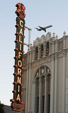 *Old Signs ~ #California Theatre http://VIPsAccess.com/luxury-hotels-los-angeles.html