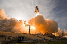 23 oktober 2014: Afbeeldingen zoeken met New Old Stock (foto: Liftoff of Space Shuttle Endeavour)