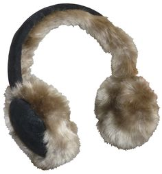 NIce Caps Girls Cheetah Print Adjustable Faux Fur Winter Earmuffs