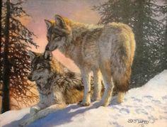 Yellowstone Evening by Bonnie Marris